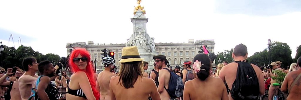 WNBR London at Buckingham Palace